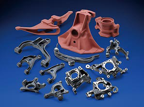 Casting components for Automobiles