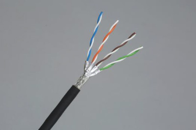 Photo: CO-IREE-SB C7E(X), Cat.7 LAN cable for rolling stock use